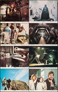 """Star Wars (20th Century Fox, 1977). Lobby Card Set of 8 (11"""" X 14""""). Science Fiction. ... (Total: 8 Items)"""
