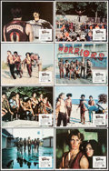 """Movie Posters:Action, The Warriors (Paramount, 1979). Lobby Card Set of 8 (11"""" X 14""""). Action.. ... (Total: 8 Items)"""