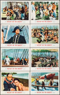 "Movie Posters:Adventure, Mutiny on the Bounty & Others Lot (MGM, 1962). Lobby Card Setof 8, Title Lobby Cards (2), and Lobby Cards (2) (11"" X 14""). ...(Total: 12 Items)"