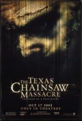 """Movie Posters:Horror, The Texas Chainsaw Massacre & Other Lot (New Line, 2003). Vinyl Banners (2) (48"""" X 71.5""""). Horror.. ... (Total: 2 Items)"""