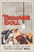 "Movie Posters:Bad Girl, Teenage Doll (Allied Artists, 1957). One Sheet (27"" X 41""). BadGirl.. ..."