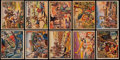 "Non-Sport Cards:Sets, 1938 R69 ""Horrors of War"" Partial Set (129) With Eight High-Numbers. ..."
