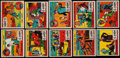 "Non-Sport Cards:Sets, 1930's R13-1 ""Crime Does Not Pay"" Collection (81) - Makes Multiple Partial Sets. ..."