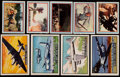 "Non-Sport Cards:Sets, 1952 Topps ""Wings"" & 1953 Topps ""Fighting Marines"" Partial SetPair. ..."