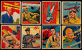 Non-Sport Cards:Sets, 1933-34 R136 Sky Birds Collection (70). ...