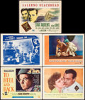 "Movie Posters:War, To Hell and Back & Others Lot (Universal International, 1955).Title Lobby Cards (2) & Lobby Cards (11) (11"" X 14""). War.. ...(Total: 13 Items)"