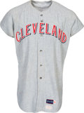 Baseball Collectibles:Uniforms, 1970 Ray Fosse Game Worn Cleveland Indians Jersey--Possibly Worn During Rose Collision....