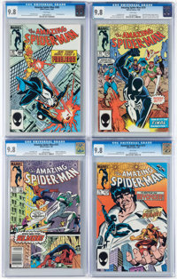 The Amazing Spider-Man Group of 4 (Marvel, 1985-86) Condition: CGC NM/MT 9.8.... (Total: 4 Comic Books)