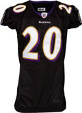 Football Collectibles:Uniforms, 2008 Ed Reed Game Worn Baltimore Ravens Jersey. ...