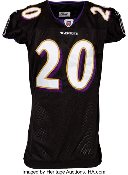 competitive price 86911 d847e 2008 Ed Reed Game Worn Baltimore Ravens Jersey. ... Football ...