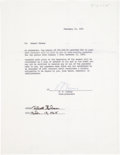 Baseball Collectibles:Others, 1968 Bob Gibson Signed Contract Addendum....