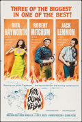 "Movie Posters:Adventure, Fire Down Below & Other Lot (Columbia, 1957). One Sheets (2)(27"" X 41""). Adventure.. ... (Total: 2 Items)"