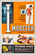 """Movie Posters:Crime, I Mobster & Other Lot (20th Century Fox, 1958). One Sheets (2)(27"""" X 41""""). Crime.. ... (Total: 2 Items)"""