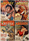 Pulps:Adventure, Argosy Group of 5 (Munsey, 1937-39) Condition: Average GD/VG.... (Total: 5 Comic Books)