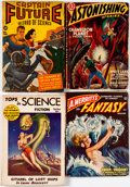 Pulps:Science Fiction, Assorted Science Fiction Pulps Group of 8 (Various, 1940s-50s)Condition: Average GD.... (Total: 8 Comic Books)