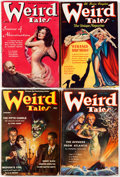 Pulps:Horror, Weird Tales Group of 11 (Popular Fiction, 1935-39) Condition:Average VG.... (Total: 11 Comic Books)