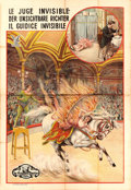 "Movie Posters:Drama, The Whimsical Threads of Destiny (Vitagraph, 1913). Foreign Poster(63.5"" X 92.5"").. ..."