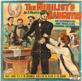 "Movie Posters:Drama, The Nihilist's Daughter (World's Special Films, 1913). Six Sheet(76.5"" X 77"").. ..."