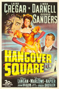 "Movie Posters:Film Noir, Hangover Square (20th Century Fox, 1945). One Sheet (27"" X 41"")....."