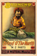 "Movie Posters:Western, Breed o' the North (Mutual, 1914). One Sheet (28"" X 42"").. ..."