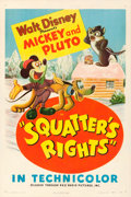 "Movie Posters:Animation, Squatter's Rights (RKO, 1946). One Sheet (27"" X 41"").. ..."