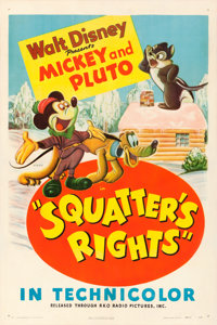 "Squatter's Rights (RKO, 1946). One Sheet (27"" X 41"")"
