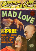 "Movie Posters:Horror, Mad Love (MGM, 1935). Pressbook (18 Pages, 14"" X 20"") with OriginalHerald.. ..."