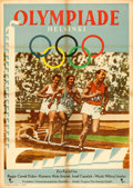 "Movie Posters:Sports, Olympiada - Helsinki 1952 (Progress Films, 1953). German A1 (23"" X 32.5"").. ..."