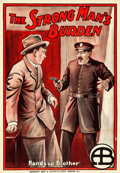 "Movie Posters:Drama, The Strong Man's Burden (Biograph Studios, 1913). British One Sheet(27.5"" X 40"").. ..."