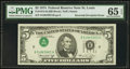 Error Notes:Inverted Third Printings, Fr. 1973-H $5 1974 Federal Reserve Note. PMG Gem Uncirculated 65EPQ.. ...