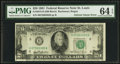 Error Notes:Ink Smears, Fr. 2073-H $20 1981 Federal Reserve Note. PMG Choice Uncirculated64 EPQ.. ...