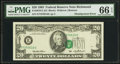 Error Notes:Shifted Third Printing, Fr. 2079-E $20 1993 Federal Reserve Note. PMG Gem Uncirculated 66 EPQ.. ...