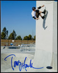 Autographs:Others, Tony Hawk Signed Photograph. ...