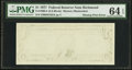 Fr. 1909-E $1 1977 Federal Reserve Note. PMG Choice Uncirculated 64 EPQ