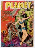 Golden Age (1938-1955):Science Fiction, Planet Comics #67 (Fiction House, 1952) Condition: VG+....