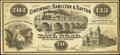 Obsoletes By State:Ohio, Cincinnati, OH- Cincinnati, Hamilton & Dayton Rail RoadAdvertising Note. ...