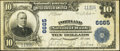 National Bank Notes:Pennsylvania, Portland, PA - $10 1902 Plain Back Fr. 624 Portland NB Ch. # 6665....