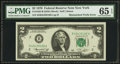 Error Notes:Mismatched Prefix Letters, Fr. 1935-B $2 1976 Federal Reserve Note. PMG Gem Uncirculated 65EPQ.. ...