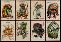 "Non-Sport Cards:Sets, 1965 Topps ""Ugly Stickers"" (39 Different). ..."