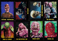 "Non-Sport Cards:Sets, 1964 Bubbles, Inc. (Topps) ""Outer Limits"" Partial Set (35/50) -With Short Prints. ..."