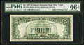 Fr. 1976-B $5 1981 Federal Reserve Note. PMG Gem Uncirculated 66 EPQ
