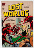 Golden Age (1938-1955):Science Fiction, Lost Worlds #6 (Standard, 1952) Condition: FN....