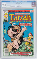 Bronze Age (1970-1979):Adventure, Tarzan #1 (Marvel, 1977) CGC VF/NM 9.0 White pages....