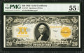 Large Size:Gold Certificates, Fr. 1187 $20 1922 Gold Certificate PMG About Uncirculated 55 EPQ.....