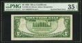 Error Notes:Inverted Reverses, Fr. 1650 $5 1934 Silver Certificate. PMG Choice Very Fine 35 EPQ.....