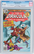 Bronze Age (1970-1979):Horror, Tomb of Dracula #45 (Marvel, 1976) CGC NM 9.4 Off-white to whitepages....