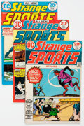 Bronze Age (1970-1979):Miscellaneous, DC Bronze Age Sports Comics Group of 10 (DC, 1970s) Condition:Average VG.... (Total: 10 Comic Books)