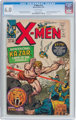 X-Men #10 (Marvel, 1965) CGC FN 6.0 Off-white pages