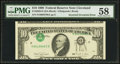 Error Notes:Inverted Third Printings, Fr. 2029-D $10 1990 Federal Reserve Note. PMG Choice About Unc 58.....
