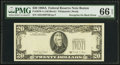Error Notes:Third Printing on Reverse, Fr. 2076-A $20 1988A Federal Reserve Note. PMG Gem Uncirculated 66 EPQ.. ...